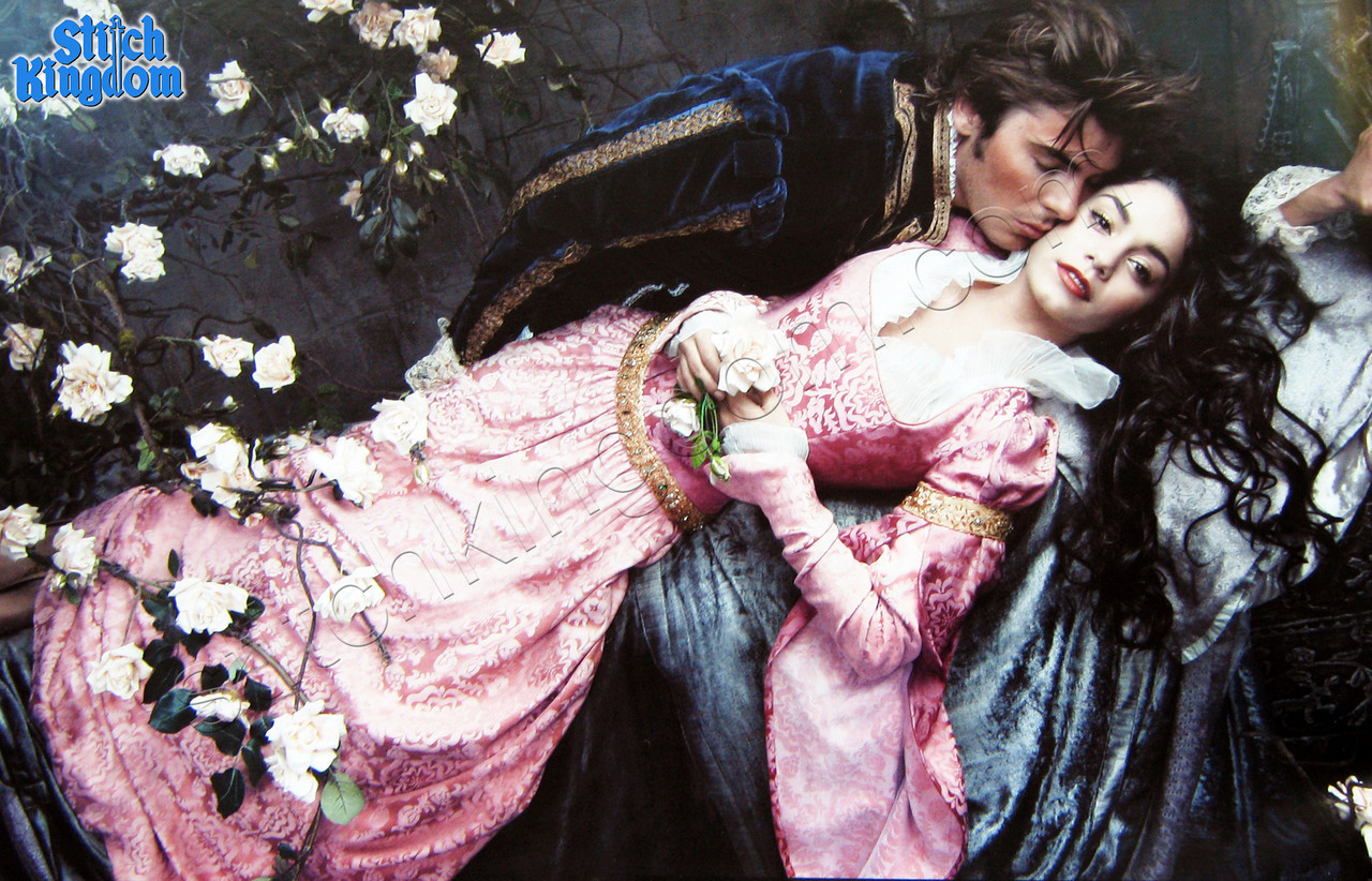 Zac and V in Sleeping Beauty Portrait - Oh No They Didn't!