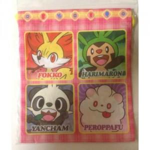 PokemonCenterDiceBagFennekinChespinPanchamMediumFront-500x500