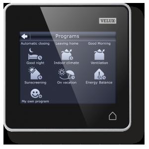 Velux RemoteControl_programs