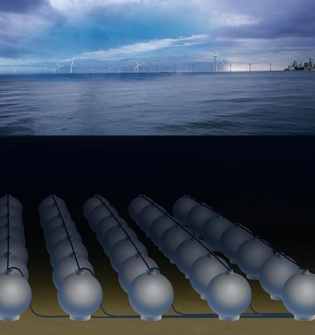 Подводный накопитель энергии