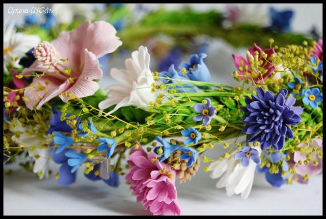 Полевые цветы венок полевые цветы