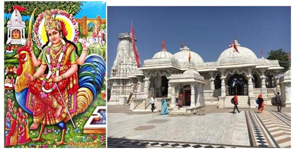 Бахучарата Мата и посвящённый ей храм