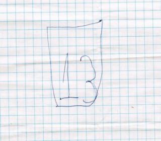 Ребенок зеркально пишет цифры
