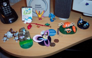 Half of my desk