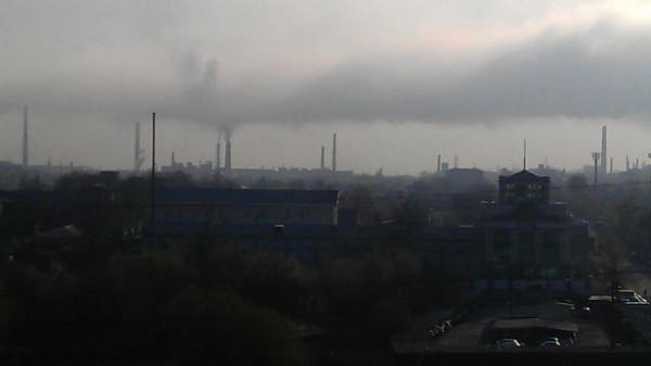 Владикавказ. Очередной выброс завода Электроцинк