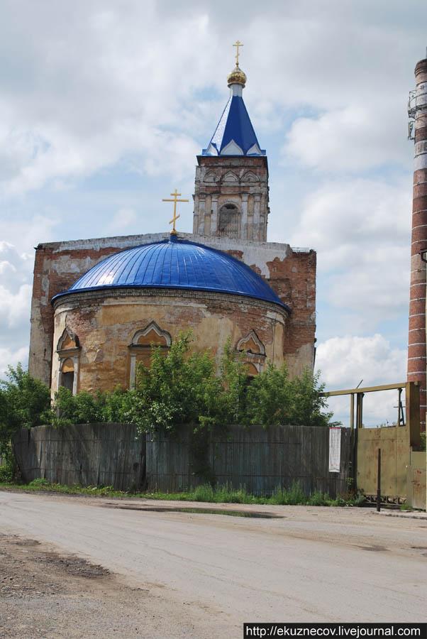 Ирбит. Разрушенная церковь