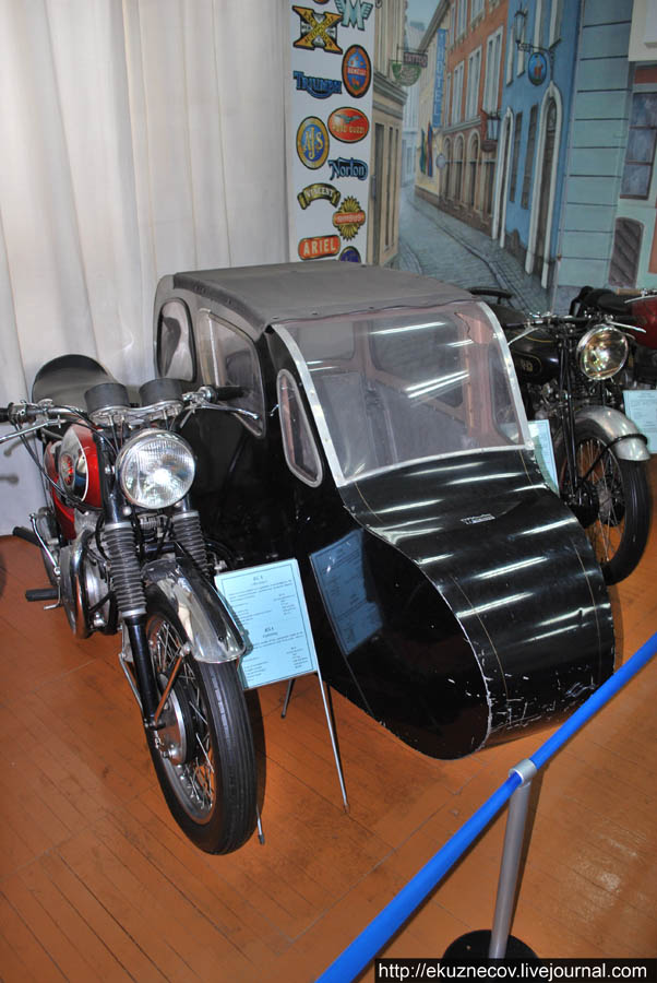 Ирбитский музей мотоциклов. БСА