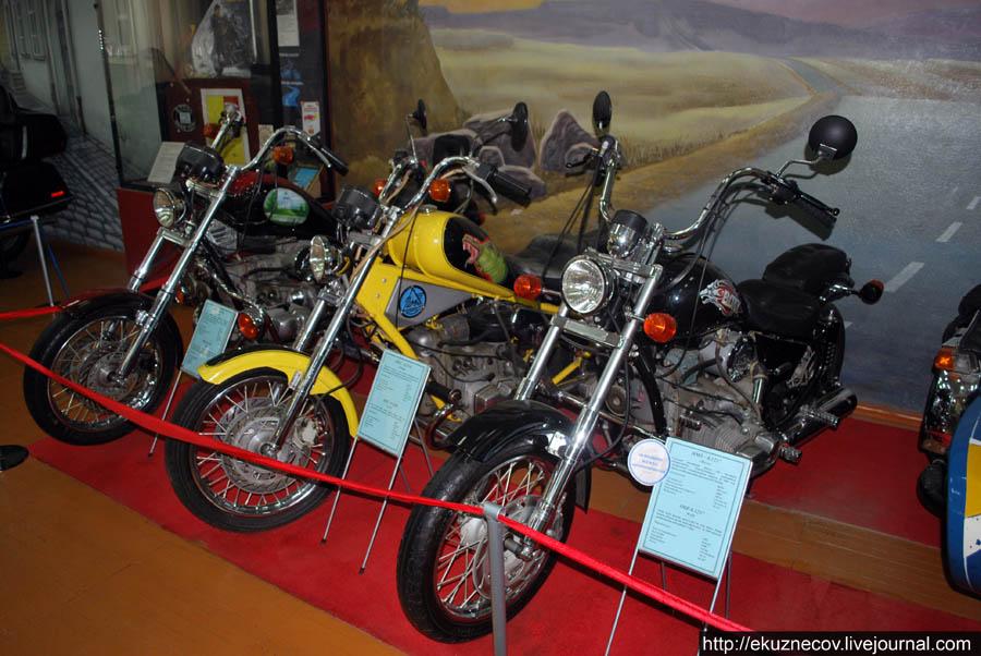 Ирбитский музей мотоциклов. Модели для байкеров