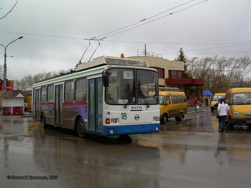 Троллейбус в Каменске-Уральском