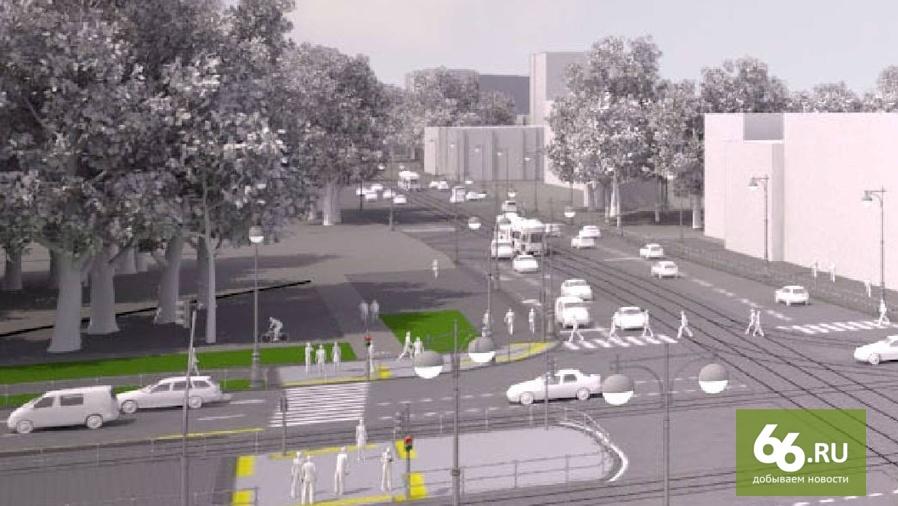 Проект реконструкции перекрестка Ленина - Московская