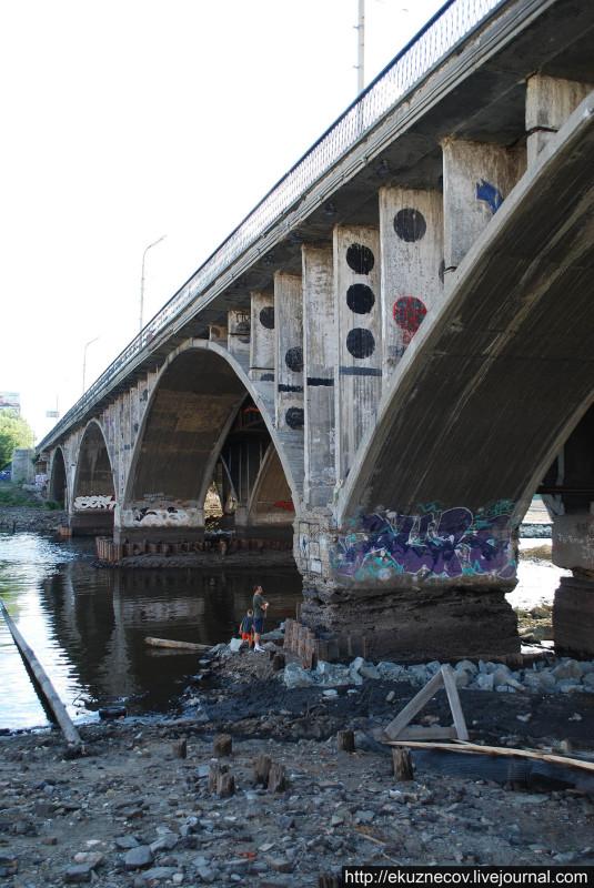 Опоры Макаровского моста