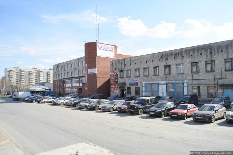 Автобусный парк №3 г. Екатеринбурга. Апрель 2019