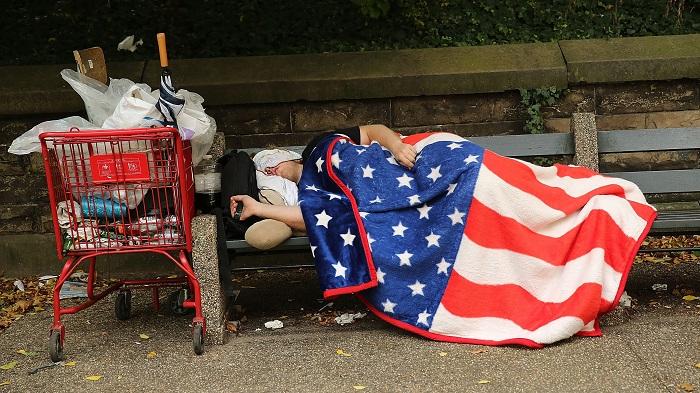 Бездомные в штатах