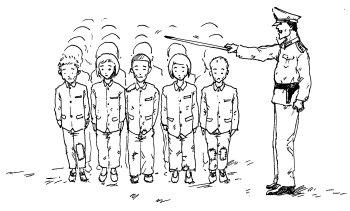 Северная Корея, заключенный
