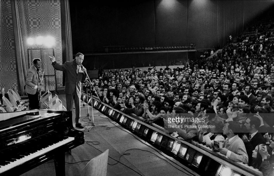 1971 год - Дюк Эллингтон в Минске