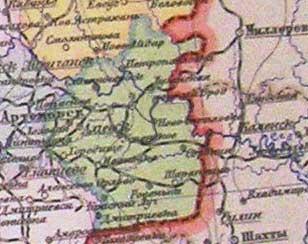 Карта 1928 года
