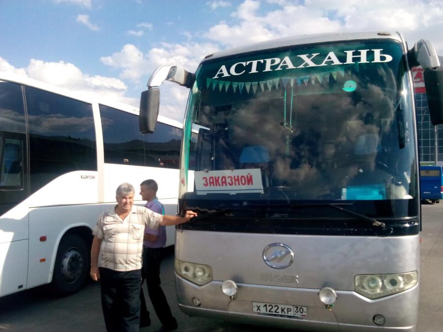 комфортабельные автобусы выехавшие из Астрахани за беженцами из Украины (3)