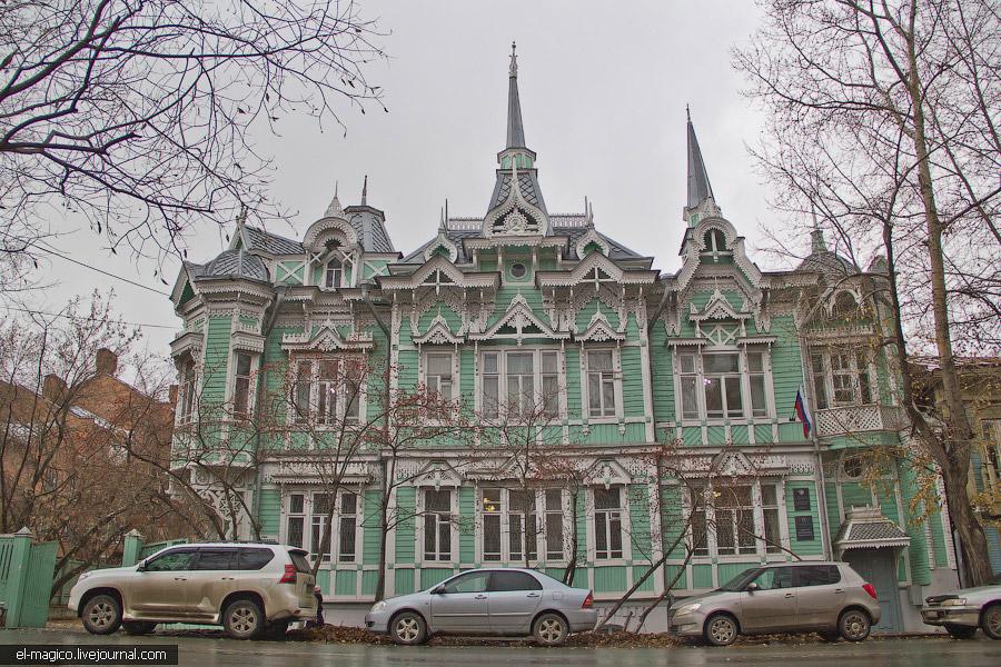 Томск - музей деревянного зодчества