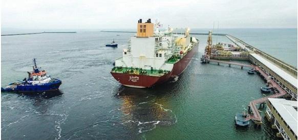 tanker lng poland 582