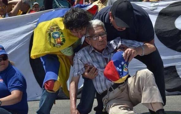 Венесуэла. Напряжение DxrC5wkUYAMVk9-