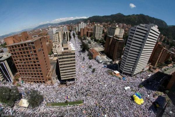 Колумбия. Всплеск