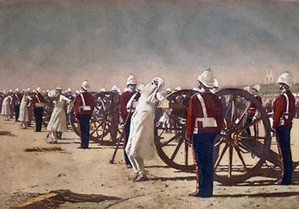 Сила и слабость Vereshchagin-Blowing_from_Guns_in_British_India