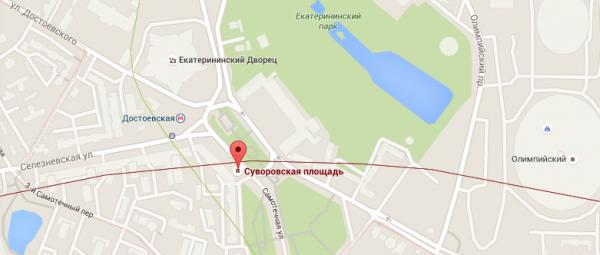 Суворовская площадь