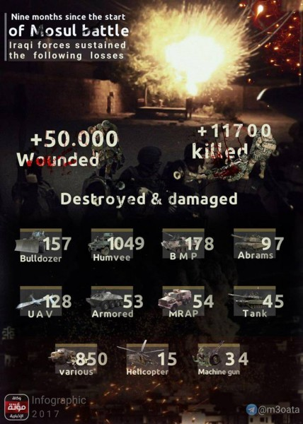 Статистика Мосул