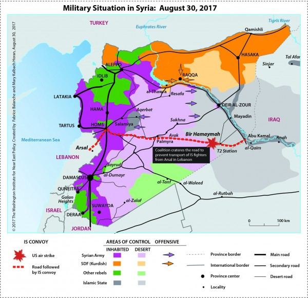 Сирия. 30 августа