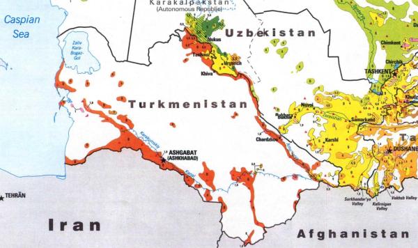 Туркмения. Население