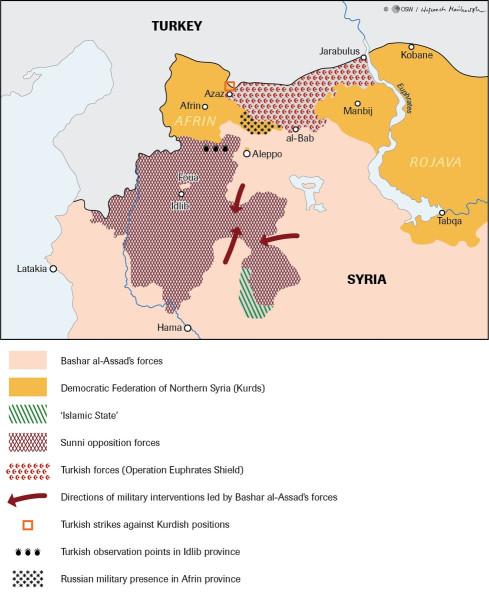 Север Сирии. 24 января DT0z4pRX4AUo_lp