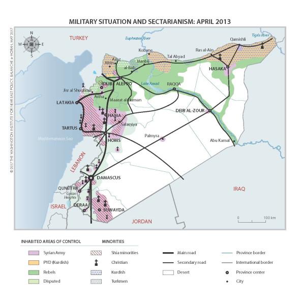 Сирия. Апрель 13