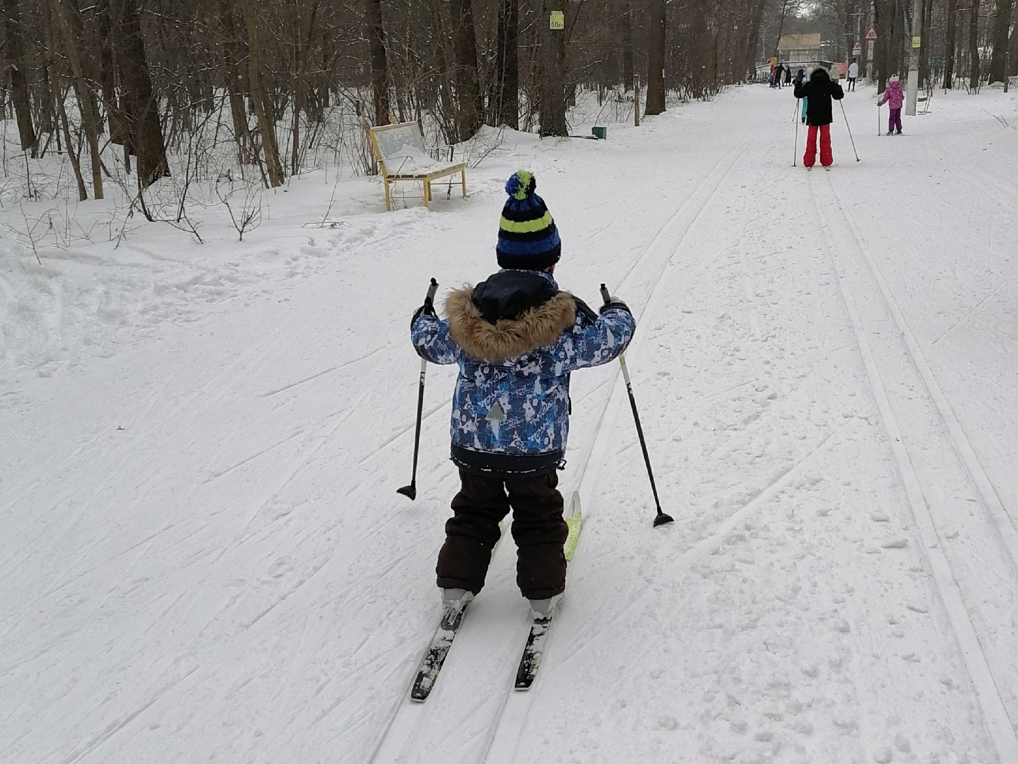 Мой маленький лыжник