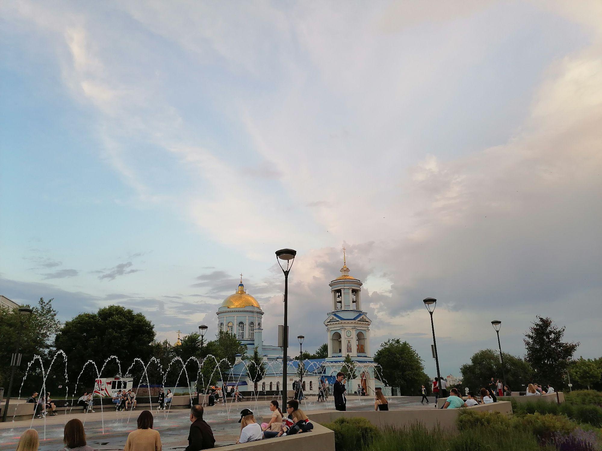Воронеж. Советская площадь. 08.06.2021