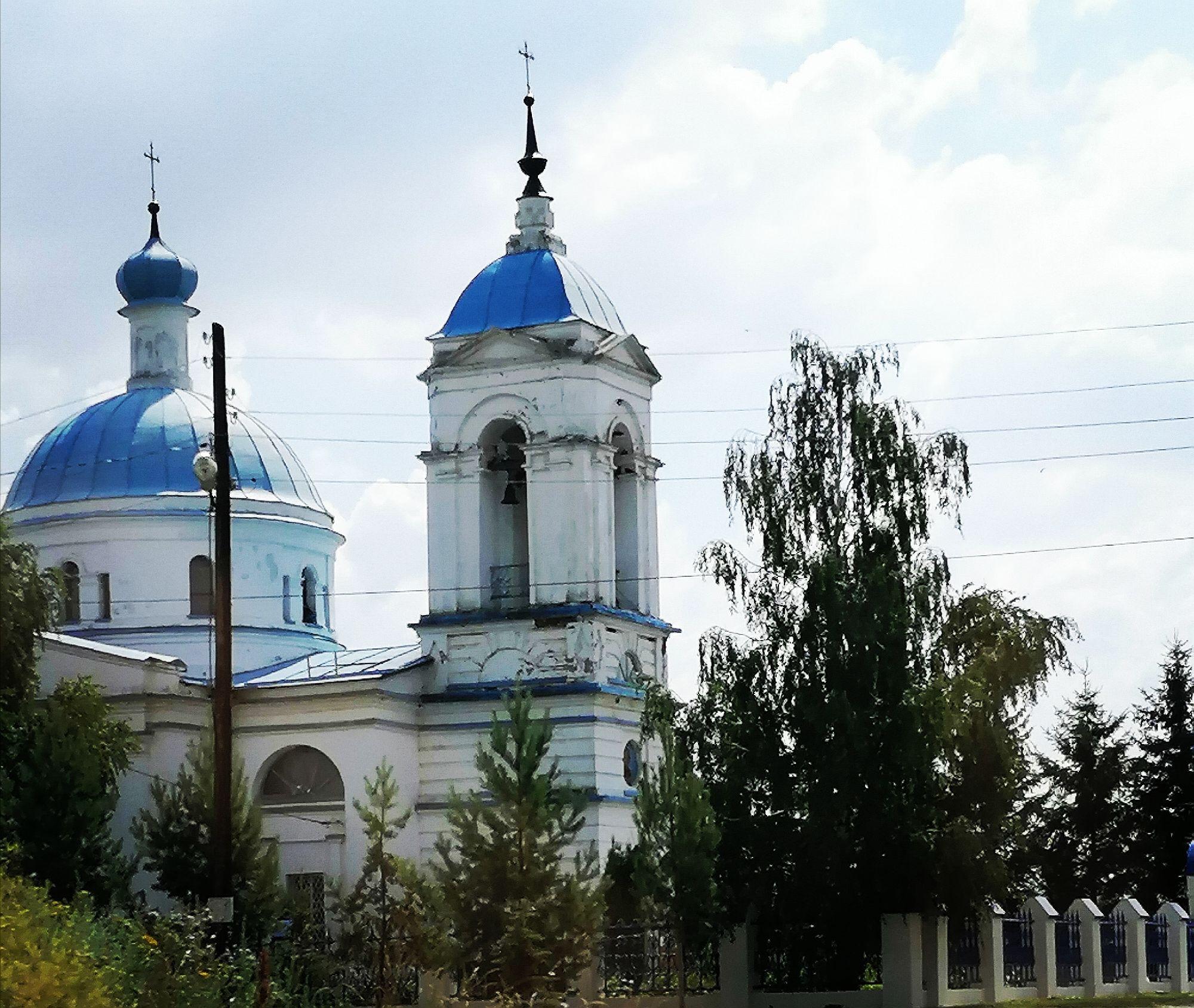 Храм иконы Божией Матери Знамение в Волово Липецкая обл
