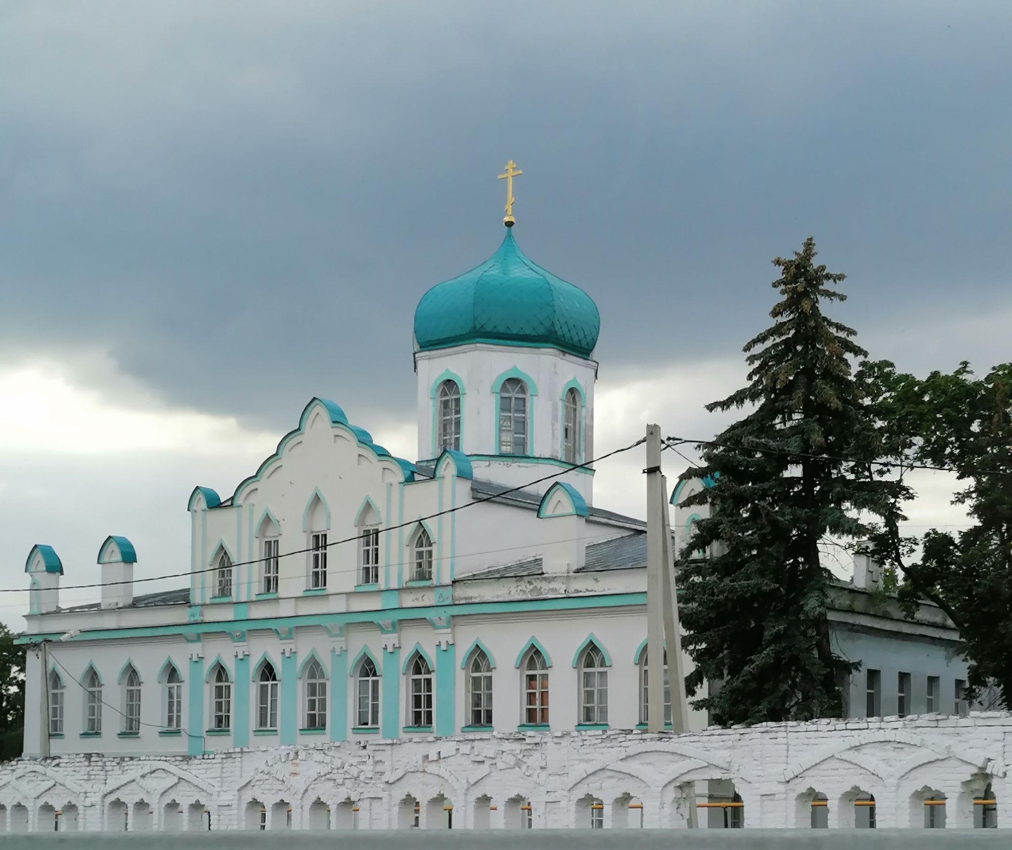 Церковь Иоанна Богослова в с. Конь-Колодезь Липецкой обл