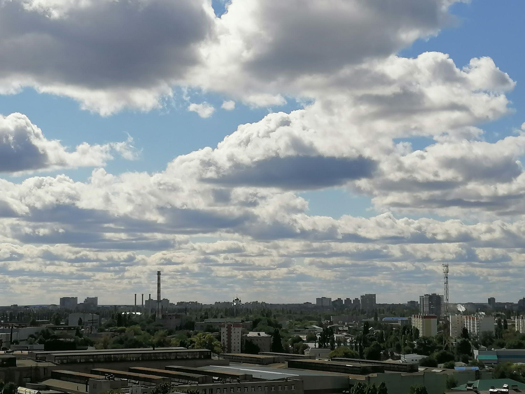 Причудливые облака