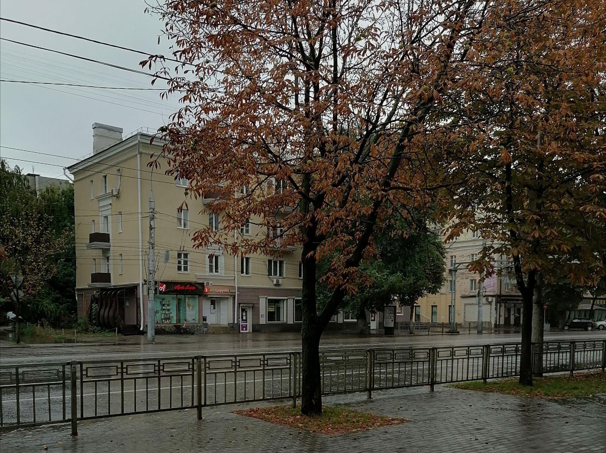 Ул. Плехановская, дождь все идет