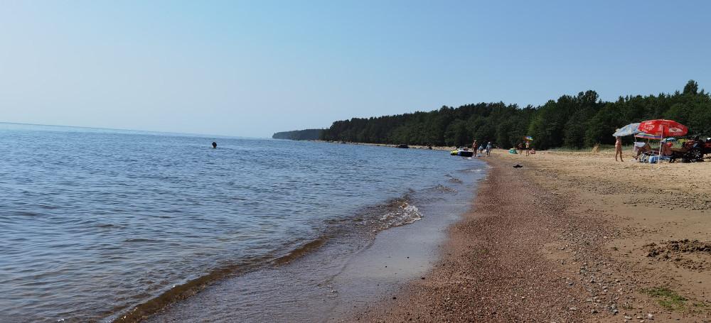 Никогда не был сторонником пляжного времяпровождение, но в жару на балтийском пляже, прекрасно!