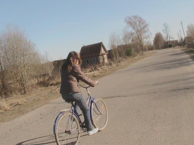 Наконец-то я поездила на велосипеде!