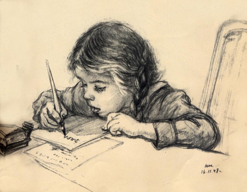 маленький писатель картинка нашем