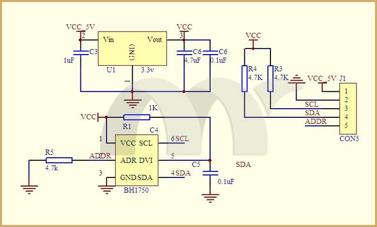 BH1750_GY302_shield_schematic
