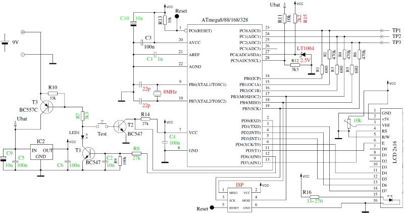 Транзистор тестер на atmega328 схема печатка прошивка фото 958