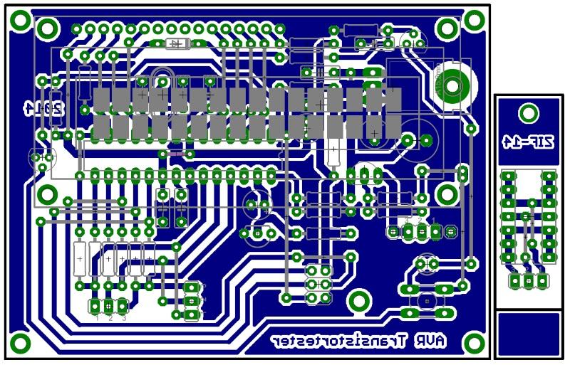 Транзистор тестер на atmega328 схема печатка прошивка фото 187