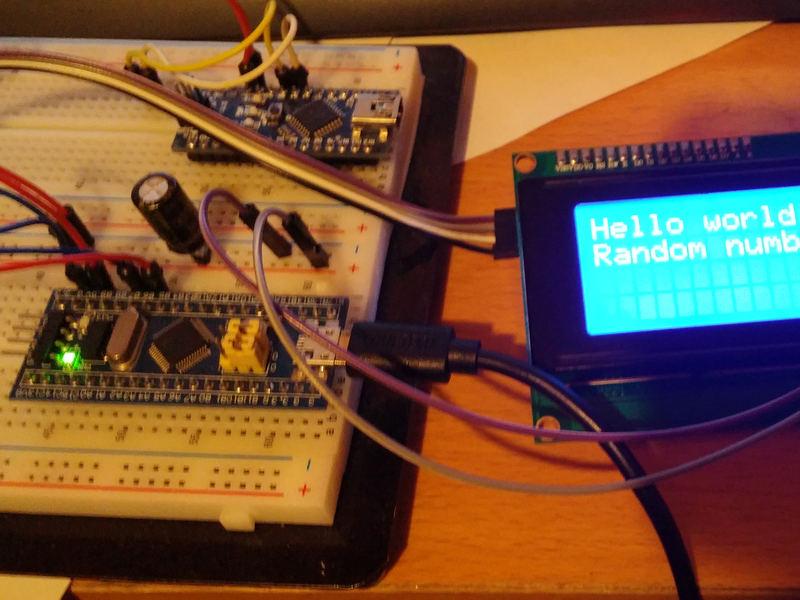 Blue Pill/STM32F103 и Arduino: elchupanibrei — LiveJournal