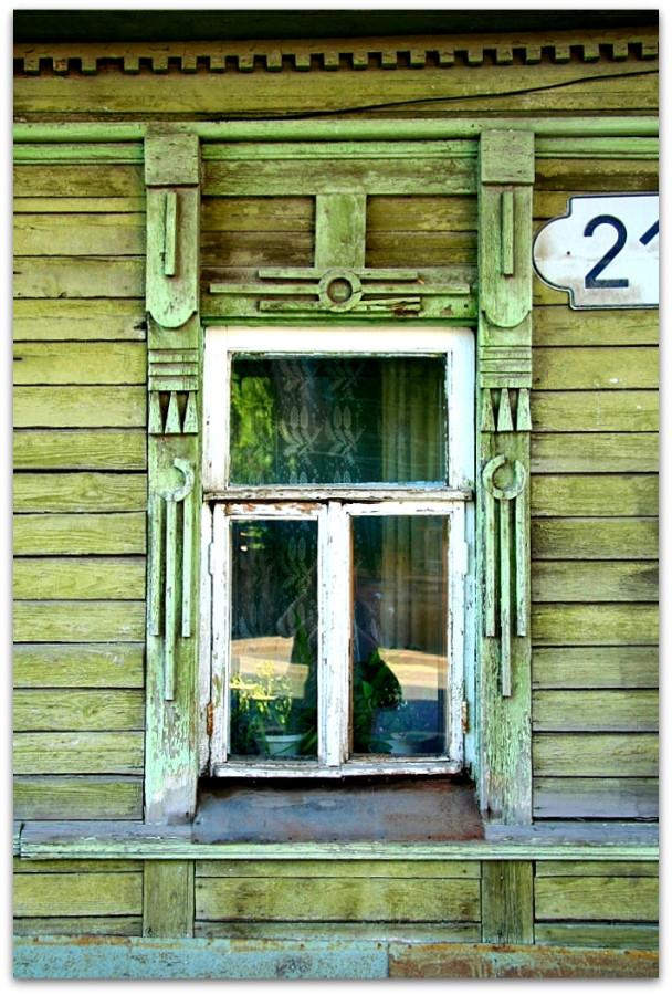 Окна. Резьба. 30