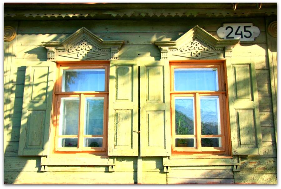 Окна. Резьба. 59