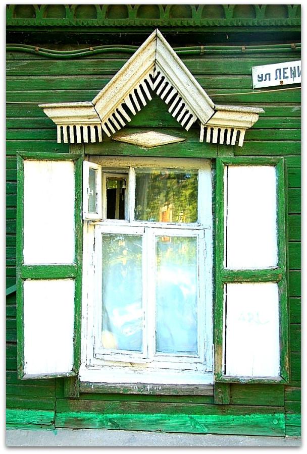 Окна. Резьба. 75
