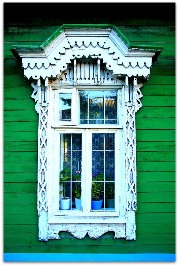 Окна. Резьба. 78