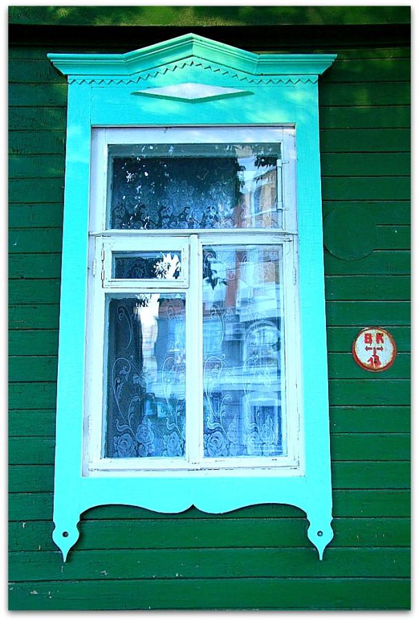 Окна. Резьба. 89